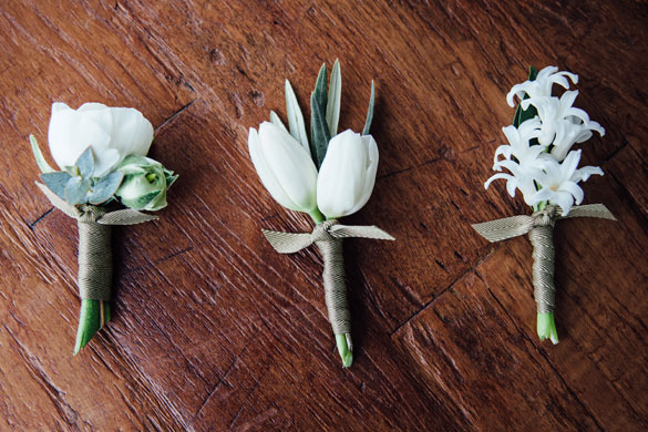 Buttonhole Flower Design by I Heart Flowers Melbourne