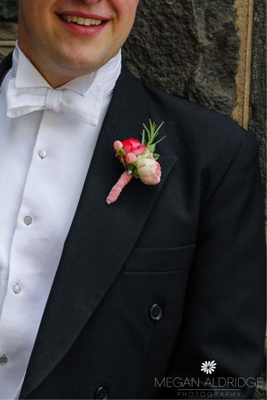 Buttonhole Wedding Flowers