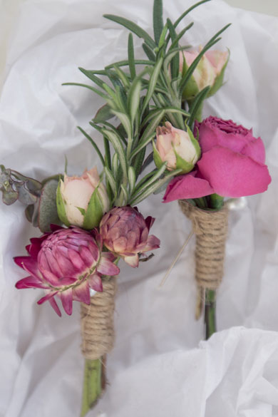 Buttonhole Flower Design by I Heart Flowers