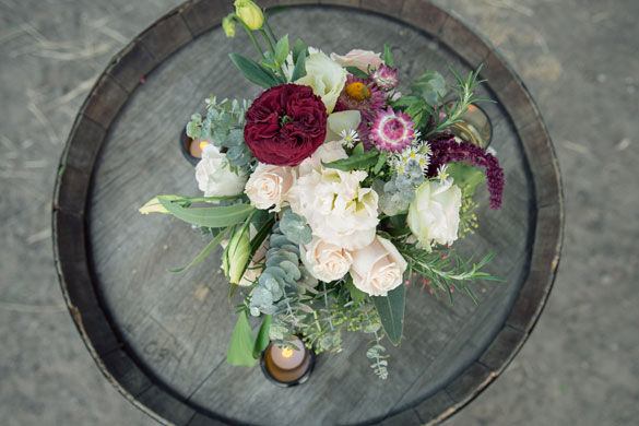 Collingwood Children's Farm Wedding by I Heart Flowers