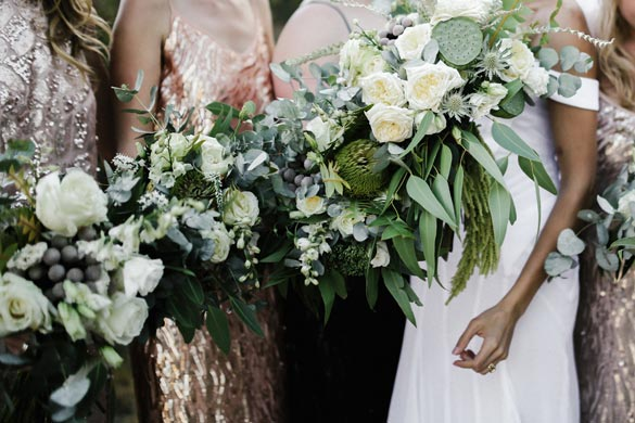 Bridal Bouquets by I Heart Flowers