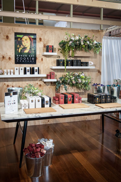 Byron Bay Cookie Co Event Styling