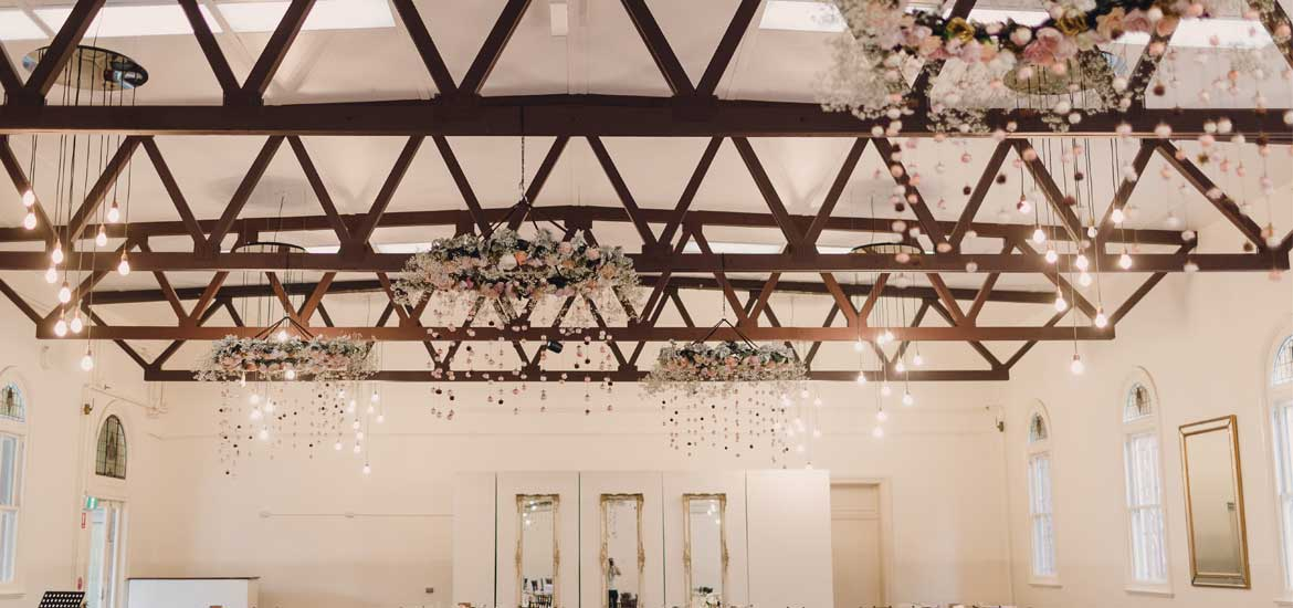 Floral Chandelier by I Heart Flowers Melbourne